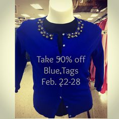 The Color of the Week is Blue! #shopbuffalogoodwill www.goodwillwny.org