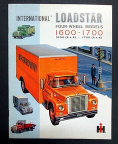 IH International Harvester 1962 1600 & 1700 Truck Brochure