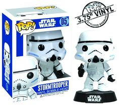 Cabezón Star Wars. Storm Trooper, Funko POP SW, 9cm. Funko