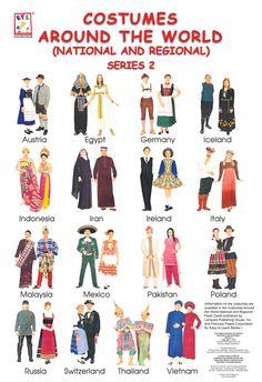 costumes around the world 2