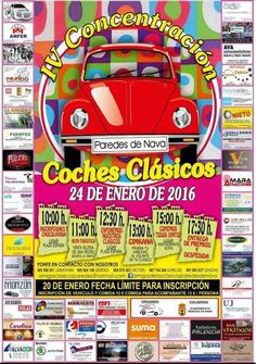 El 24 de Enero se llevará a cabo el IV Concentración de coches clásicos en Palencia.