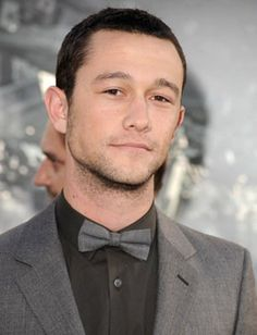 Joseph Gordon-Levitt, he's kind of goofy but was amazing in Inception and Uncertainty