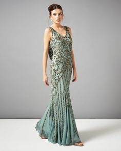 1920s Style Prom Dress