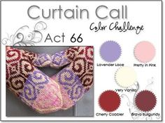 Stacey's Stamping Stage: Curtain Call Color Challenge: {ACT 66} Lavender Lace, Pretty in Pink, Cherry Cobbler, Bravo Burgundy, Vanilla