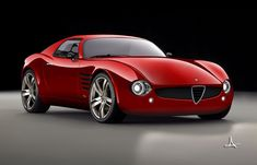 Alfa Romeo Canguro, a modern interpratation, now I'd buy this! Alfa Romeo Spider, Alfa Romeo Cars, Alfa Cars, Fiat Spider, Sexy Cars, Hot Cars, Maserati, Bugatti, Luxury Sports Cars