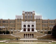 Desegregation landmark, Little Rock Central High School, Little Rock, Arkansas