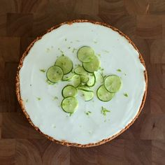 Peaceful Cooking: Key Lime Cheesecake with Key Lime Custard