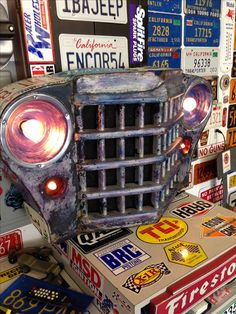 Car Part Furniture, Car Parts, Man Cave, Monster Trucks, Projects, Log Projects, Man Caves