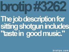 Taste in good music