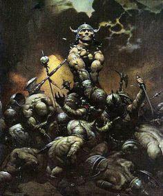 Frank Frazetta :  Conan the Buckaneer, early version