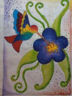 Pintura sobre tela por Karina Miranda