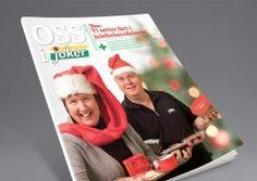 Oss i Joker by Joker/Kjøpmannshuset. Pinned from www. Magazine Design, Frosted Flakes, Cereal, Joker, The Joker, Jokers, Corn Flakes, Breakfast Cereal