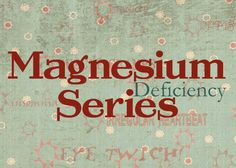 I learned SO much studying magnesium and all of the ways it supports health, as well as the best ways and forms to use it. Enjoy these recipes & my research