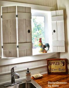 Love the indoor shutters.