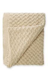 Chunky Knit Natural Throw Chunky Knit Throw, Next Uk, The Next, Knitted Throws, Living Room Inspiration, Uk Online, Cosy, Playroom, Knot
