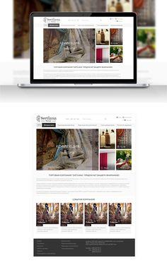 Svetlana on Behance Web Design, Behance, Design Web, Website Designs, Site Design