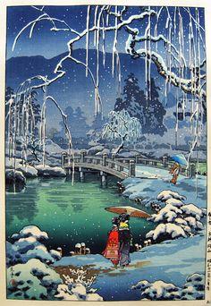 KOITSU, TSUCHIYA (1870 – 1949)  Maruyama in Kyoto