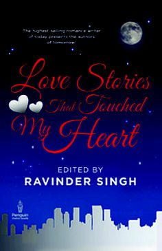 Book Love Stories That Touched My Heart By: Ravinder Singh at Rs.50