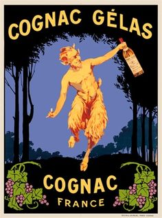 alcohal wine posters | Posters Reproductions. This vertical french wine and spirits poster ...