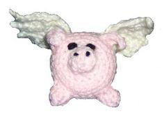 Winged Pig Crochet Pattern - Flying Pigs Crochet Pattern