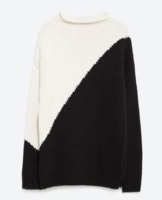 Image 6 of BLOCK COLOUR SWEATER from Zara