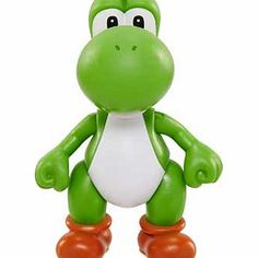 Nintendo Super Mario 4 inch Figures Wave 1 - Yoshi with Your favourite 4 inch poseable figure from Nintendo World. Comes complete with their own mystery power up accessory. Includes 4 inch figure and 1 accessory. Complete with power up accessory. Choose fr http://www.comparestoreprices.co.uk/childs-toys/nintendo-super-mario-4-inch-figures-wave-1--yoshi-with.asp