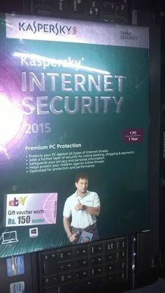 Kaspersky Internet Security 2015 - 1 User 1 Year Protects your privacy & money