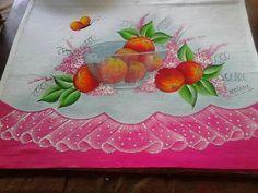 Pintura em tecido - face Adriana Silva