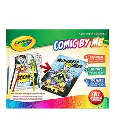 Look what I found on #zulily! Comic by Me Book Kit #zulilyfinds