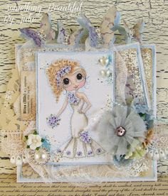 Something Beautiful By Julie: Guest Designer Card for the Bestie Dutch Girls