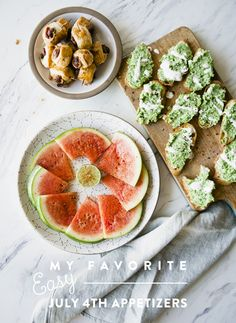 MY FAVORITE EASY FOURTH OF JULY APPETIZERS - The Kitchy Kitchen