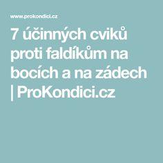 7 účinných cviků proti faldíkům na bocích a na zádech | ProKondici.cz