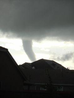 Tornado in Roseville, CA on 3.26.14