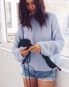 prostoy pulover 7   Домоседка
