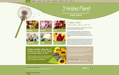3 Wishes Florist Website Design