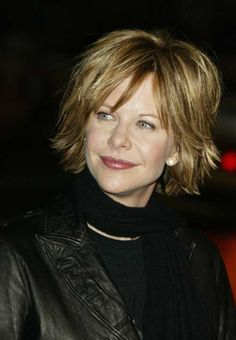 Meg Ryan Casual Bob Haircut