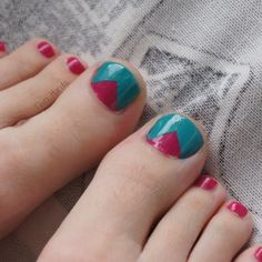1st pedi :) by TwoHands from Nail Art Gallery