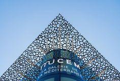 Photo de l'architecture du MUCEM, Marseille