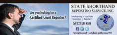 Court Reporting NJ | Litigation Support Services | Transcription Services | Free Online Repository