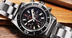 BREITLING Super Ocean Chronograph  / Ref.A110B81PSS