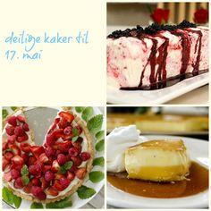 17. mai-maten! Pudding, Desserts, Food, Tailgate Desserts, Deserts, Custard Pudding, Essen, Puddings, Postres