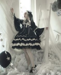 Black and white lolita dreams.