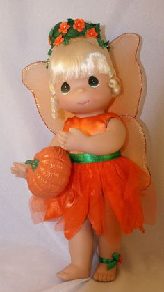 Tinker Bell Tink a Boo Halloween Doll Disney Precious Moments 5086 Signed 2011 #PreciousMoments
