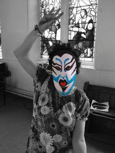 Kabuki theatre in our Bradford workshop.