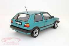 CK-Modelcars - 188411: Volkswagen VW Golf II Madison Bj. 1990 grünmetallic / green metallic 1:18 Norev, EAN 3551091884118