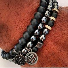 Mens bracelets available now!!!   #bracelets #bracelet #jewelry #handmade #fashion #accessories #braceletstacks #beadedjewelry #beadwork #braceletsoftheday #beaded #armcandy #handmadejewelry #beads #style #bijoux #fashionista #montresfemme #beadedearrings #bijouxfantaisie #braceletstack #braceletsformen #beadeddress #love #braceletsmurah #trendy #braceletslovers #braceletstone Mens bracelets available now!!!