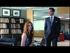 dc115cd760 Suits Webisode - Harvey Knows Clueless  Harvey Specter and Donna Paulsen As  if!