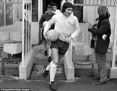 Captain leader legend: Roy McFarland was a rock at the backfor Derby in the Derby County, Barclay Premier League, Sport Man, Nostalgia, Soccer, Football, Durham, Couple Photos, Sports