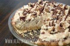 Caramel Pie, Caramel Crunch, Sugar Free Desserts, Low Carb Desserts, Easy Delicious Recipes, Yummy Food, Keto Recipes, Butterfinger Pie, Frosty Recipe