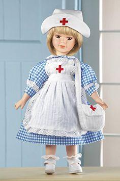 Collectible Nurse Doll In Checkered Dress Collections Etc http://www.amazon.com/dp/B00MQFPUUC/ref=cm_sw_r_pi_dp_eKFsub0VAY4Y6